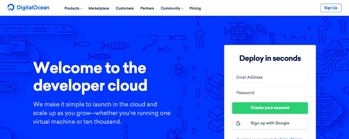 DigitalOcean Monthly