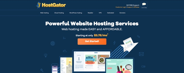 HostGator Monthly